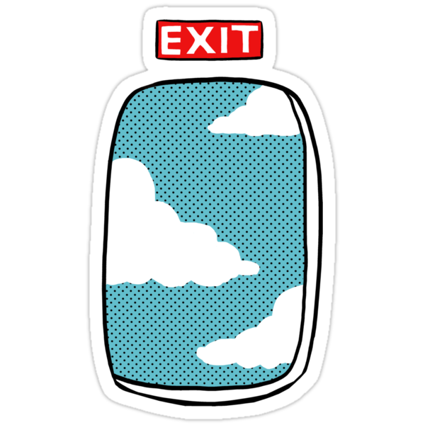 Emergency exit  by Alice Carroll