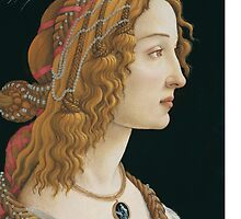 Sandro Botticelli - Portrait of an Ideal Woman by lifetree
