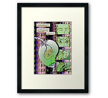 Comic Framed Print