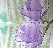Magnolias IV by Alexandra Felgate