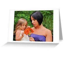 beautiful moments Greeting Card