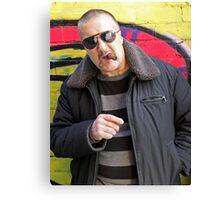 Mark Brandon Chopper Read Canvas Print