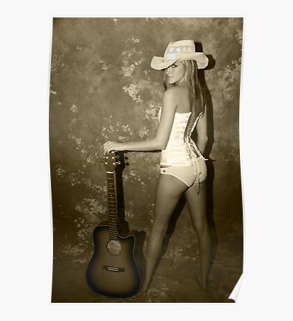 Rock My World Little Country Girl Poster