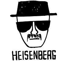 Breaking Bad heisenberg  Photographic Print