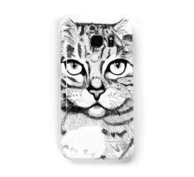 Handsome Cat Samsung Galaxy Case/Skin
