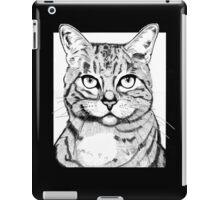 Handsome Cat iPad Case/Skin