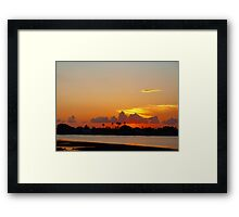 Harbor glamour Framed Print