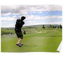 Golf Swing L Poster