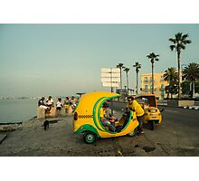 Coco Taxi's  Photographic Print
