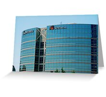 Sun Trust Corporate Headquarters Greeting Card