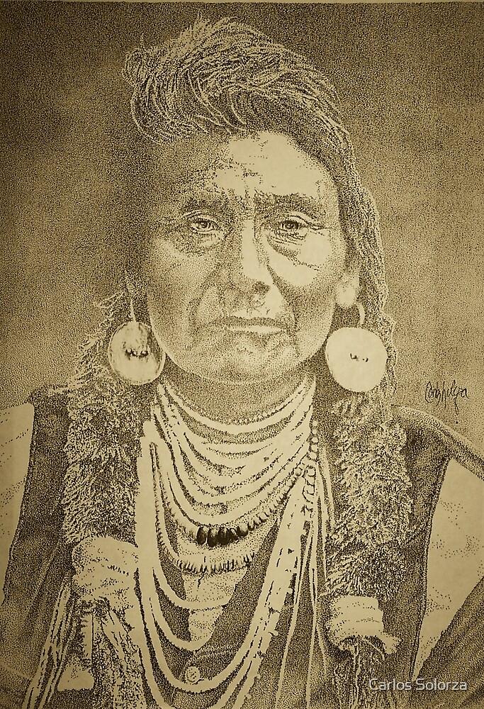 Chief Joseph by Carlos Solorza