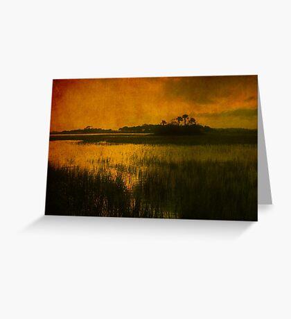 Island in the sun Greeting Card