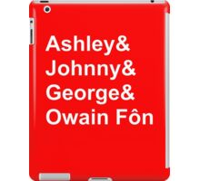 Wales' Williams iPad Case/Skin
