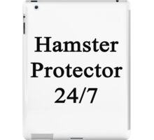 Hamster Protector 24/7  iPad Case/Skin
