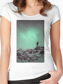 Lost the Moon While Counting Stars II Women's Fitted Scoop T-Shirt