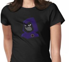 Teen Titans - Serious Raven Womens Fitted T-Shirt