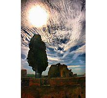 Roman Sun Photographic Print