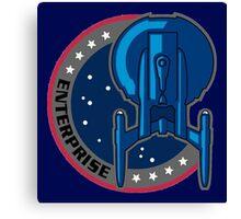 Enterprise Mission Patch Canvas Print