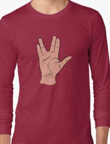 Live Long and Prosper Hand Sign T-Shirt