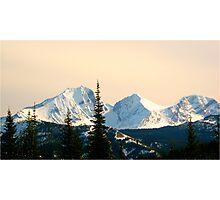 Mountainous Escape Photographic Print