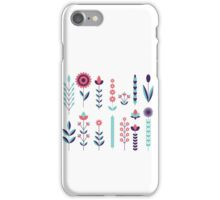 Geometric Flowers iPhone Case/Skin