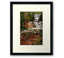 Maroondah Reservoir Spillway Framed Print