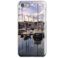 Sutton Harbour Marina Plymouth iPhone Case/Skin