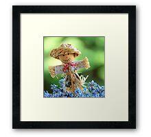 Lavender Scarecrow Framed Print