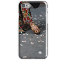 flower collector  iPhone Case/Skin