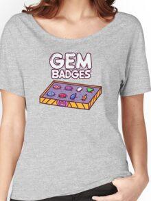 Gem Badges Women's Relaxed Fit T-Shirt