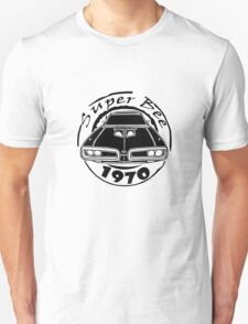 1970 dodge super bee graphic geek funny nerd T-Shirt
