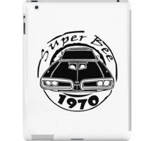 1970 dodge super bee graphic geek funny nerd iPad Case/Skin
