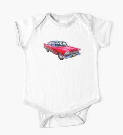 1958 Plymouth Savoy Classic Car One Piece - Short Sleeve