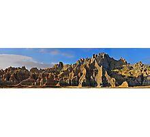 Badlands National Park / Bandit Hideout Photographic Print