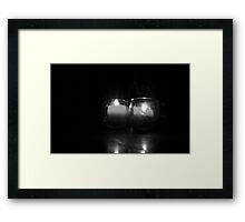 Smoke & Glass Framed Print