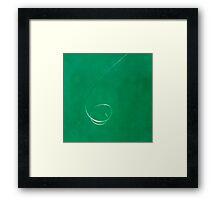 Squiggle Framed Print