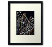 chicago theater Framed Print