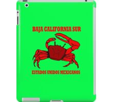 Baja california sur geek funny nerd iPad Case/Skin