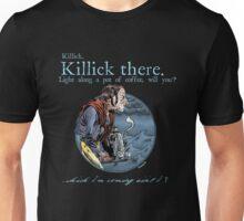 That Mumping Villain (Lt. Blue Text for Dark Tees) Unisex T-Shirt