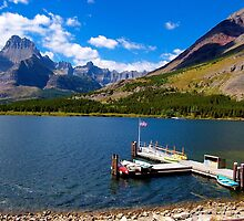St. Mary Lake by Nancy Richard