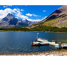 St. Mary Lake Photographic Print