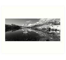 Serene Scene at Cradle Mountain Art Print