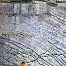 Orange Float, Staithes by Sue Nichol