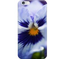 Blue Pansy iPhone Case/Skin