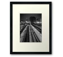 Commuter Line Platform Framed Print