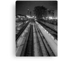 Commuter Line Platform Canvas Print