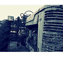 A old tractor: III Photographic Print