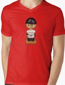 San Francisco Giants Bobblehead Mens V-Neck T-Shirt