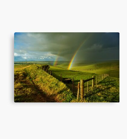 """The Valley Of The Promise"" Canvas Print"