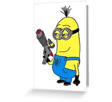 Despicable me - Minion Greeting Card